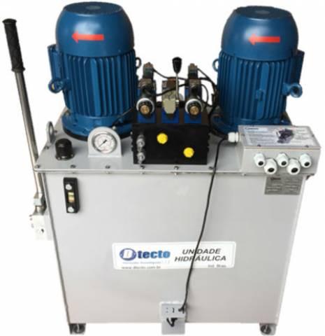 Sistema Hidráulico da Máquina do Leme